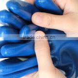 industrial work nitrile labor protection glove with competitive price