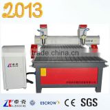Two Heads CNC Engraving Machine for wooddoor MDF (ZK-1325B)
