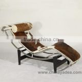 Furniture Le Corbusier Chaise Lounge LC4 for livingroom