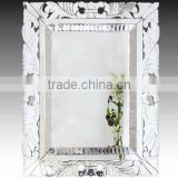 Handmade New Style Baroque Wall Mirror Mounted Bevelled Dressing Mirror