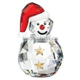 Yiwu Years crystal snowman model for Christmas decoration (R-0254)