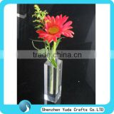 Factory Sale Clear Vase, High Polish Transparent Vase For Flower, Wedding Gift Acrylic Vase