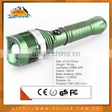 Wisdely Used High Technology LED Police Rechargeable Flashlight