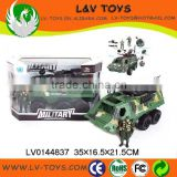 Hot-selling plastic friction tank toy military vehicle