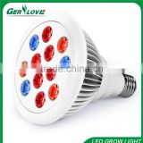 12w e27 full spectrum led grow lights bulb for hydorponics grow tent seedling plant growing lights