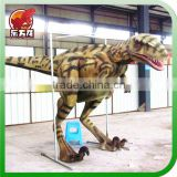 Life size walking with dinosaur costume for sale