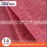 cheap polyester cotton TC colored yarn dyed single jersey knitted fabric for baby garment