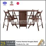 wooden acrylic folding table made in China