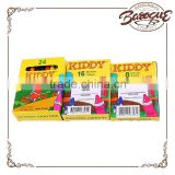 Wholesale 50ct long crayola colored pencils 24 twistables,personalized customizable crayola crayons set in colour can