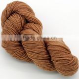 Nylon/acrylic chunky fancy yarn