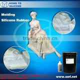 liquid silicone for concrete garden decoration statue molds