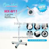 5X Beauty Salon Equipment 5X Magnifying Lamp Parts Moveable Led Magnifying Glass Floor Lamp With CE Cosmetic