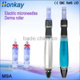 Best selling electric micro needling/needles length adjustable electric derma roller needle pen