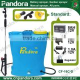 16L Knapsack Liquid Fertilizer Battery Sprayer