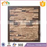 Factory Custom made best home decoration gift polyresin resin wicker rattan wall decoration
