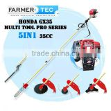 ORIGINAL HONDA GX35 4 STROKE 35CC ENGINE 5 IN 1 LONG REACH PRO MULTI TOOL BRUSH CUTTER WHIPPER SNIPPER HEDGE TRIMMER POLE PRUNER
