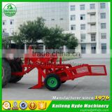 Robust groundnut combine harvester with 15HP tractor