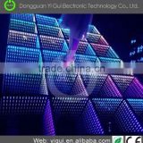 2016 Hot selling disco Colorful stage lighting portable led brick interactive led starlit dance floor