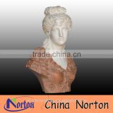 Hand art marble carving Goddess bust head sculpture NTMS-B058Y