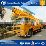 CLW brand price of high rise work platform street light maintenance trucks