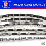 Huazuan Diamond Wire Saw For Diamond Wire Sawing Machine Cutting Granite Marble Concrete