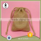 Chinese factory made 2017 wedding party jewelry burlap bag