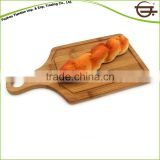 Eco-friendly Bamboo Pizza Plate Wooden Food Grade