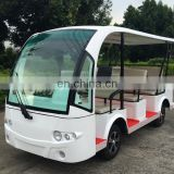 11 seats electric shuttle bus