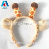 lovely antlers plush headband manufacturer custom toy accessories