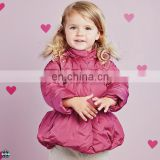 T-GC006 High Quality Wholesale Childrens Candy Colors Girls Long Coats