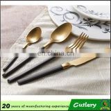 High Grade Cutlery Set Gold Plated Flatware wholesale