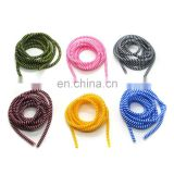 Multi Color Spiral USB Charger Cable Cord Protector Portable Cable Sleeve