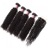 Silky Straight Indian Bouncy And Soft Curly Human Hair Pre-bonded