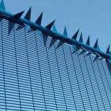 Heavy welded wire mesh 358 fencing design prison fence for Kenya
