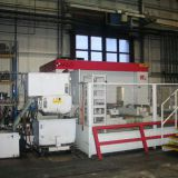 Japan Kurashiki CNC 5 axis 2-pallet horizontal machining center