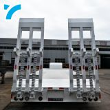 China Factory Shipping Container Twist Lock 3 Or 4 Axles 3 Axles Flatbed Trailer