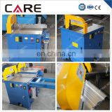 Pneumatic high speed aluminium saw cutting machines, aluminum profile cutting saw machine without burr