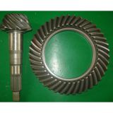 Construction Machinery Spiral Bevel Gear Set For Axle