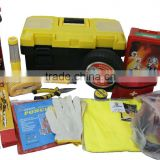 16pcs Multifunction Emergency Safety Car Kit