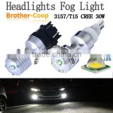 T20 T15 7440 7443 3156 3157 1156 1157 20W 30W CREE CANBUS led Signal bulb Brake Running Light