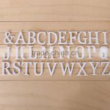 Laser Cut Pvc Mr&Mrs Letters For Wedding Decoration customized