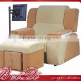 Beiqi Deluxe and Utility Multifunctional Luxury Massage Chair with Music Used Beauty Barber Salon Office Furniture