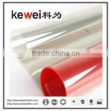 Kewei Building film Transparent Window glass film/energy saving and anti-explosion security window film ,