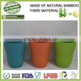 fresh color bamboo fibre tumbler,new design water cup,eco-friendly mug