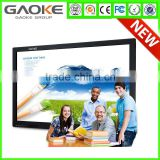 GK880T 55 65 70 84 98 inch size 1080P 4K resolution 6 to 10 points touch lcd interactive smart board touch monitor