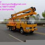 DongFeng crew cab 3 Knuckle arm 12-16 meter High-altitude Operation Truck