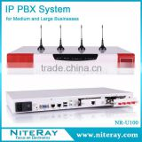 Up to 500 extensions gsm pbx voip pbx telephone system                                                                         Quality Choice
