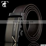 China manufature true leather belt genuine leather belt wholesale price automatic buckle belt for men