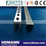 pre-galvanized strut channel .ISO NEMA UL CE tested.top quality