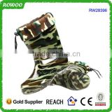 camouflage printing pu boots mens, men long boots, wholesale men boots